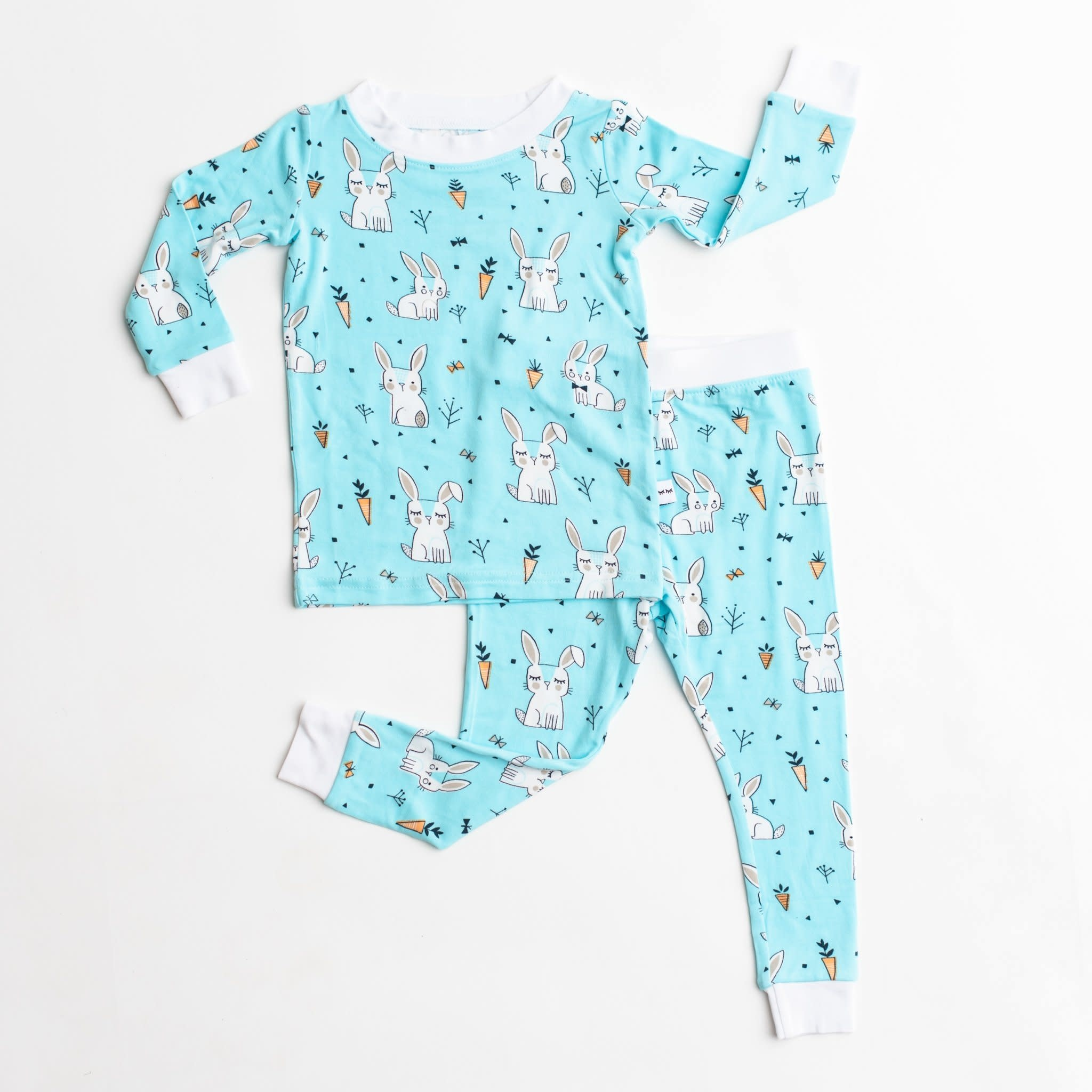 LITTLE SLEEPIES Bamboo Pajama Set