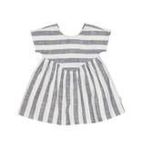 HUX BABY Stripe Yoke Dress
