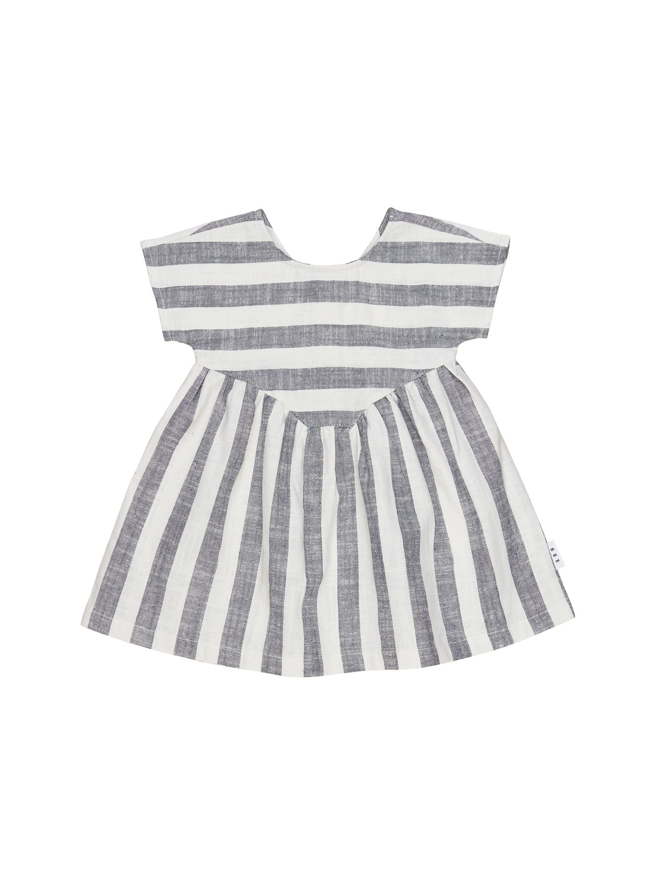 HUX BABY Stripe Yoke Dress