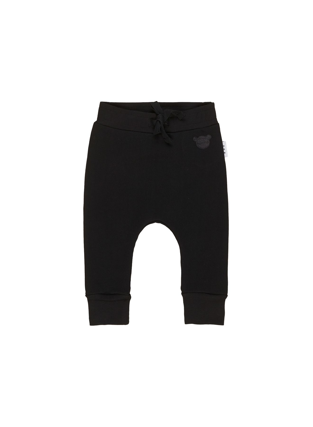 HUX BABY Black Drop Crotch Pant