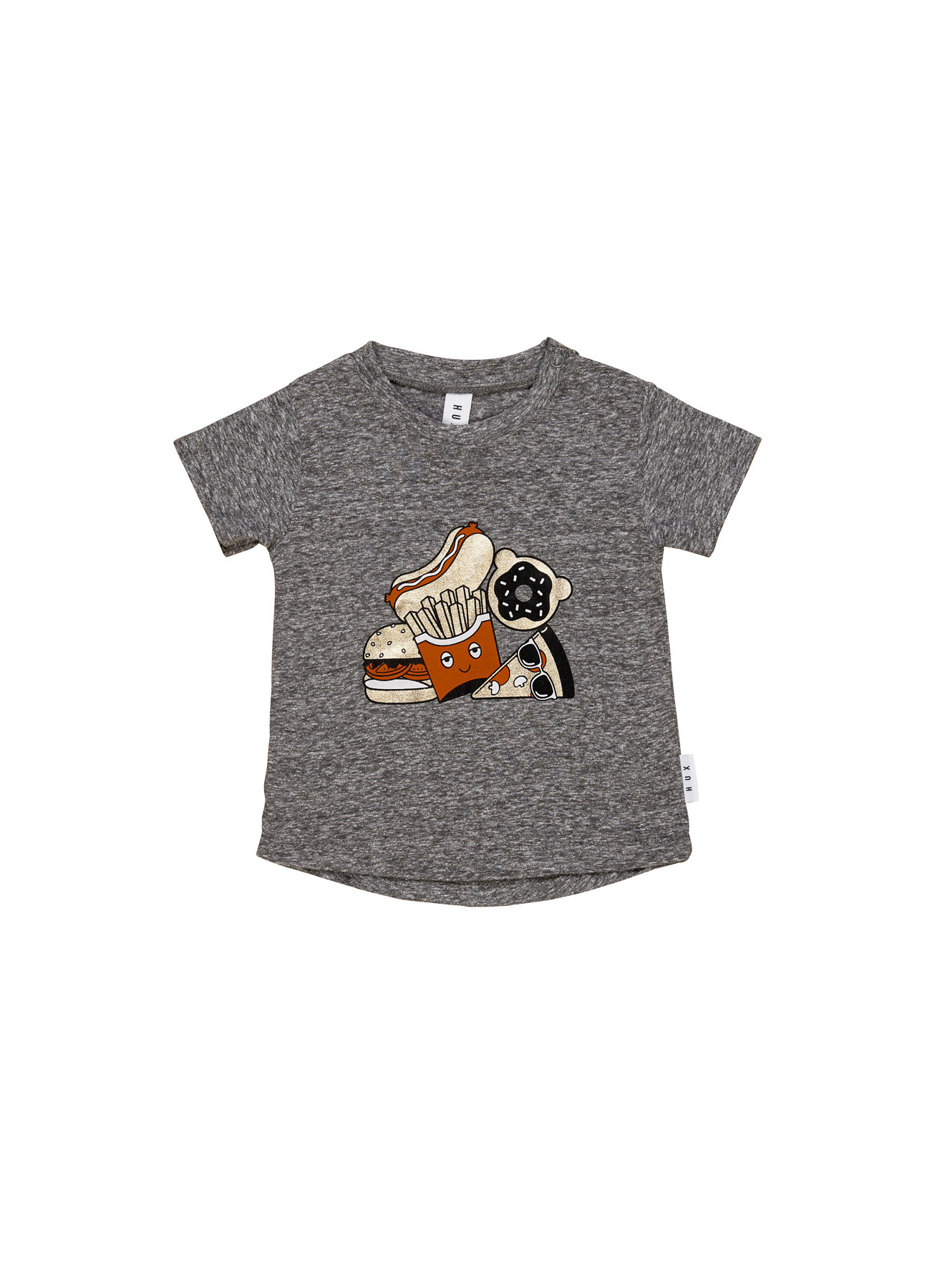 HUX BABY Gold Food T-Shirt