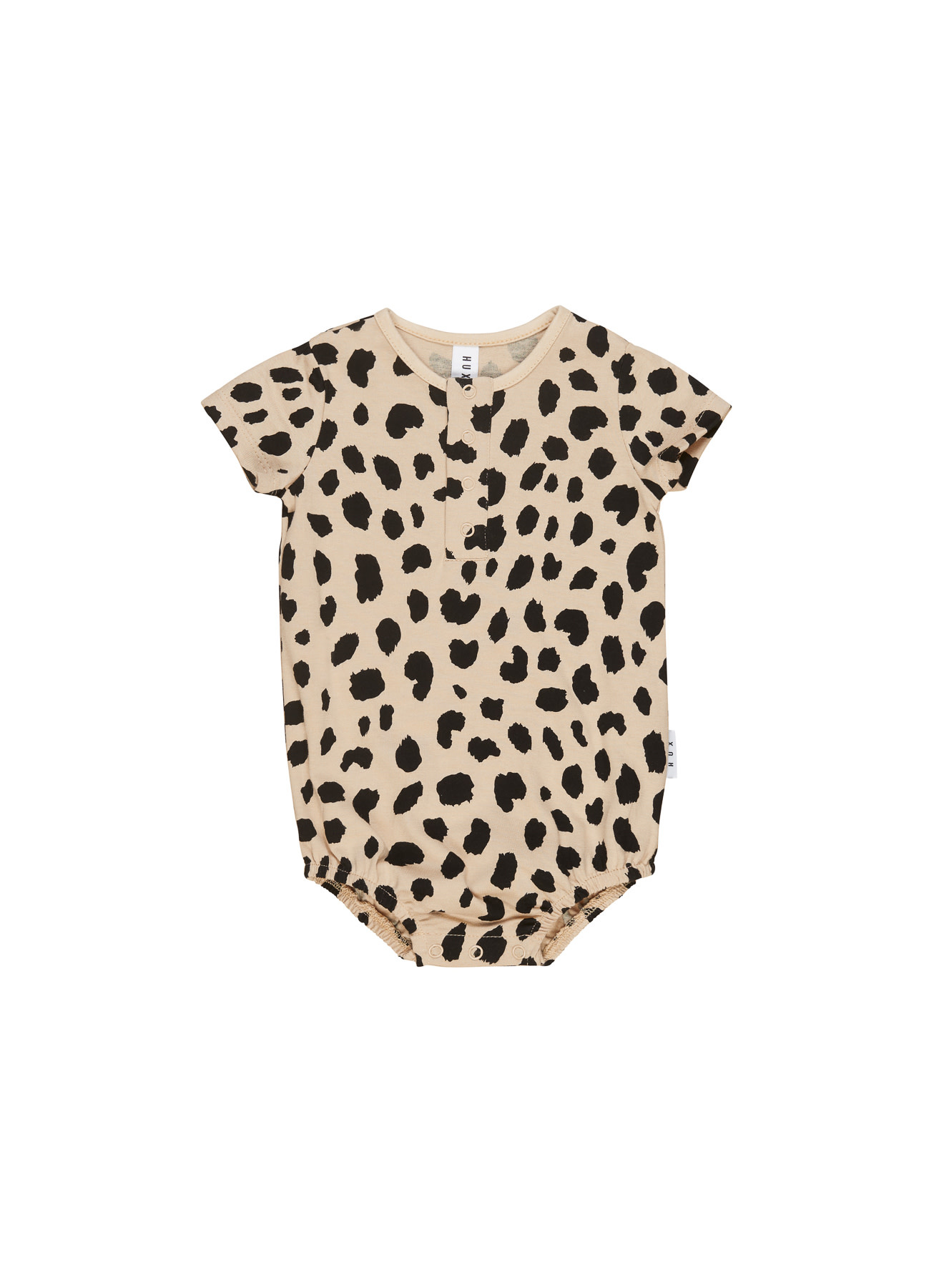 HUX BABY Animal Spot Bubble Onesie