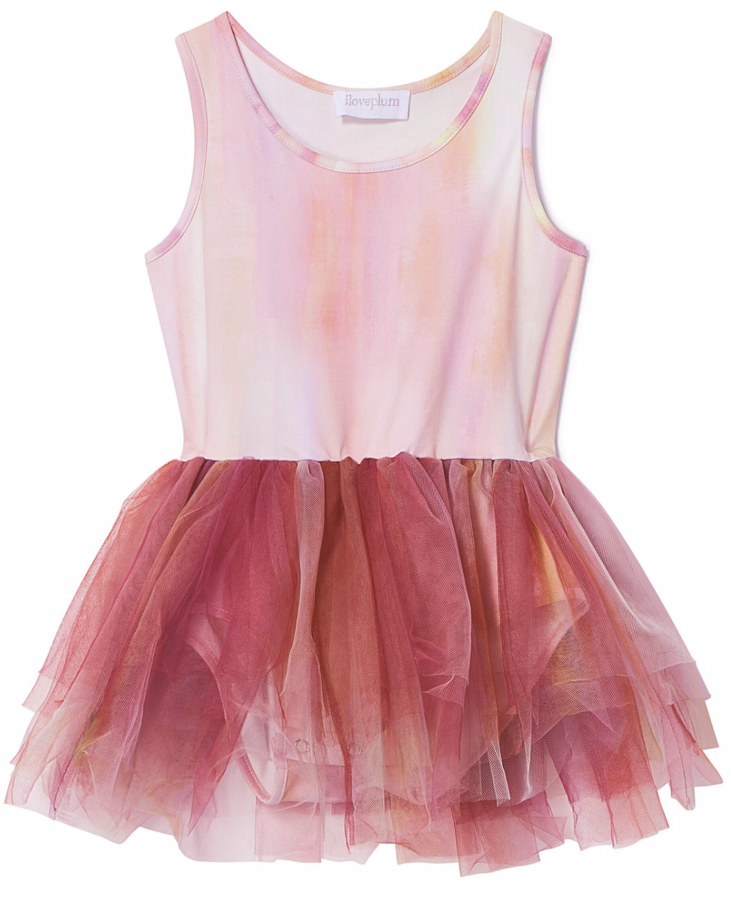 PLUM B.A.E. Watercolor Tutu Dress