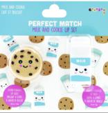 iscream Cookies & Milk Lip Set
