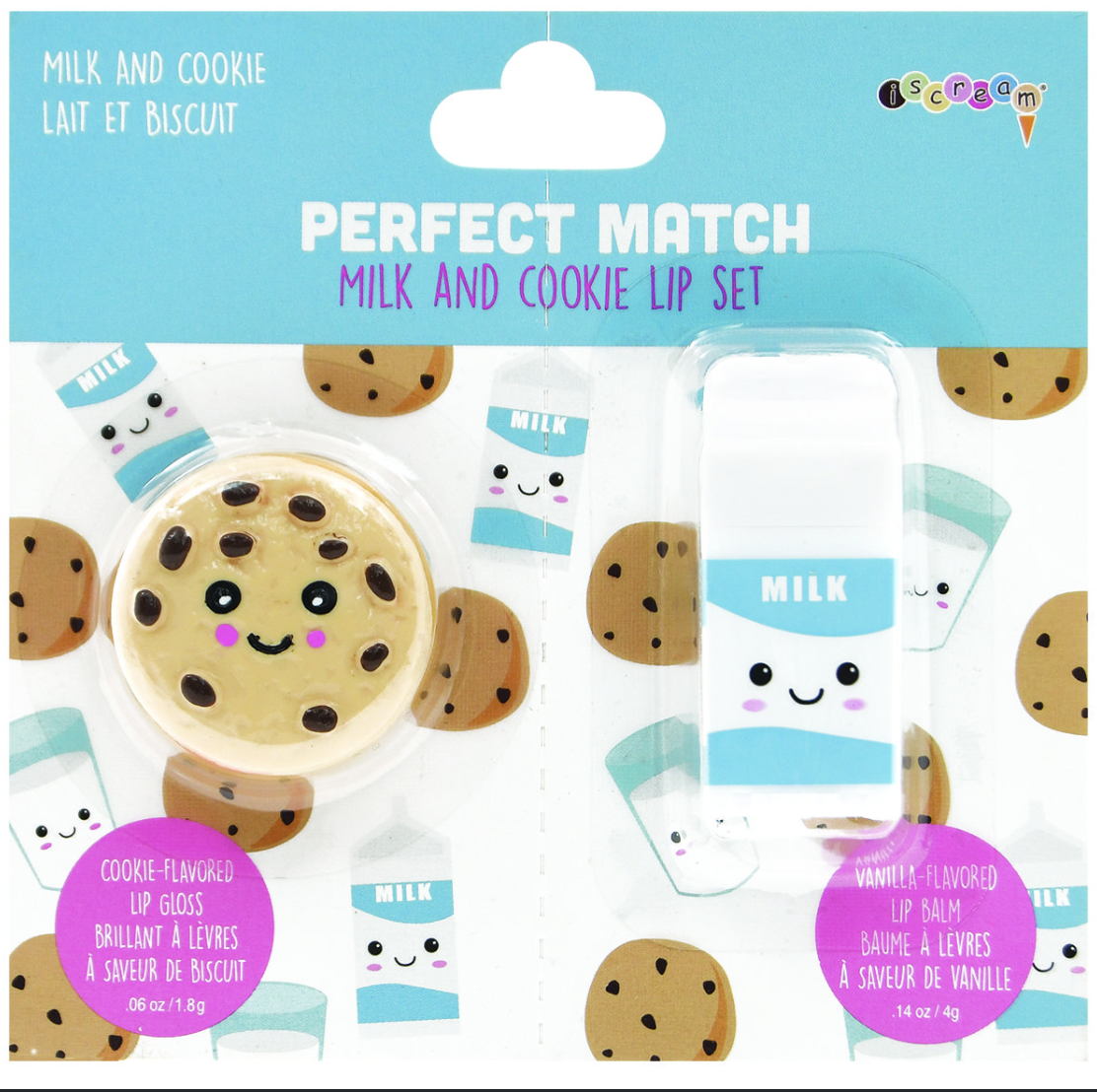 iscream Cookies & Milk Lip Set