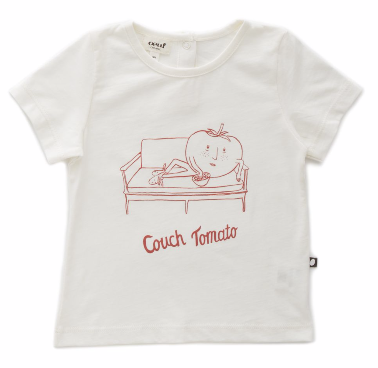 OEUF Couch Tomato Tee Shirt