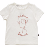 OEUF Girl Cheese Tee Shirt