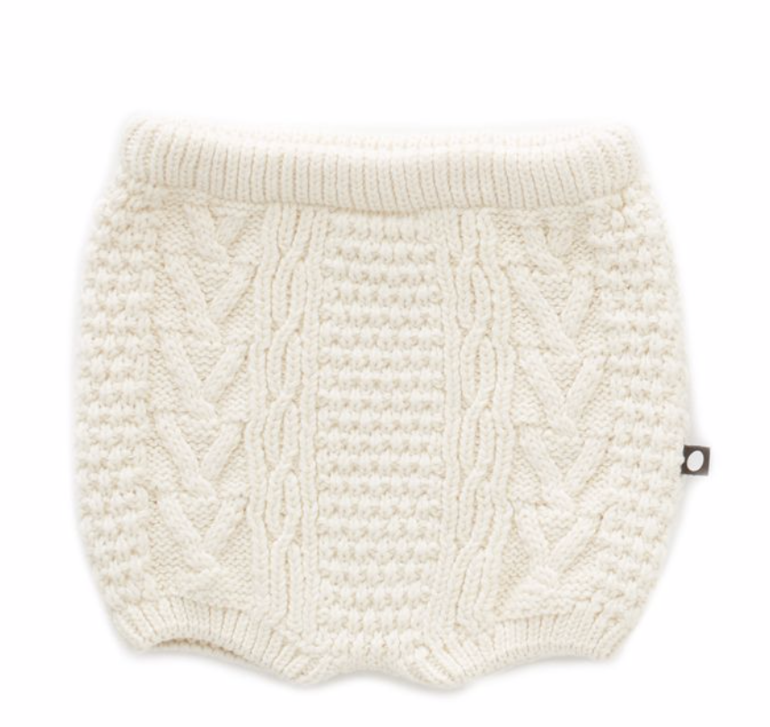 OEUF Cable Knit Shorts