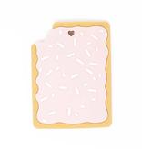 Three Hearts Strawberry Toaster Pastry