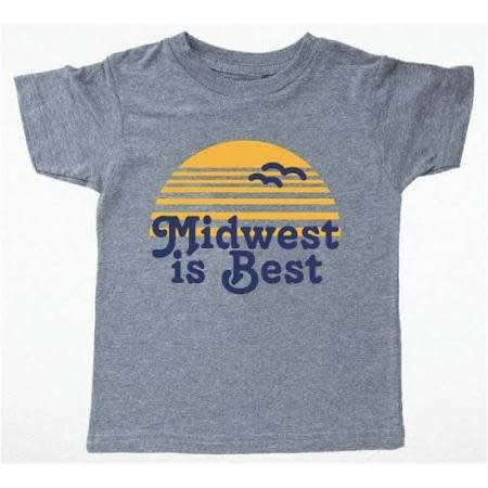 TINY WHALES Midwest is Best Tee