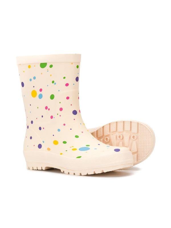STELLA MCCARTNEY Dot Rain Boots