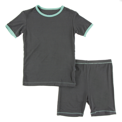 KICKEE PANTS Short Sleeve Pajama Set With Shorts