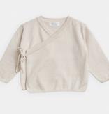 BELLE ENFANT Cotton Wrap Top