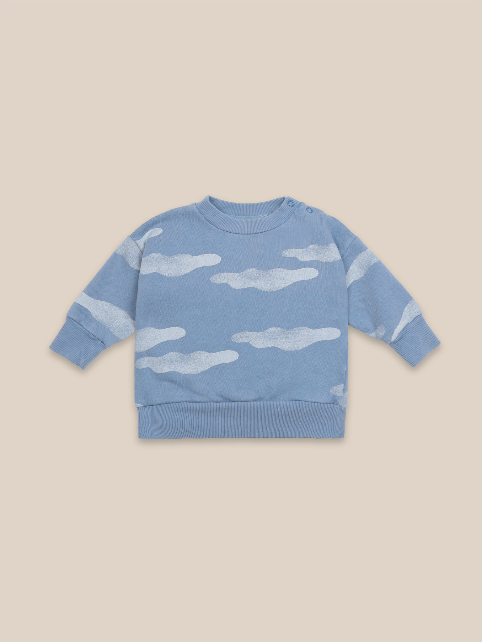 BOBO CHOSES Clouds All Over Sweatshirt