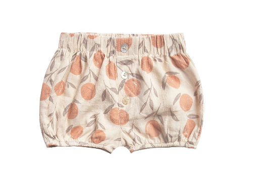 RYLEE AND CRU Peaches Button Short