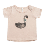 RYLEE AND CRU Swan Basic Tee