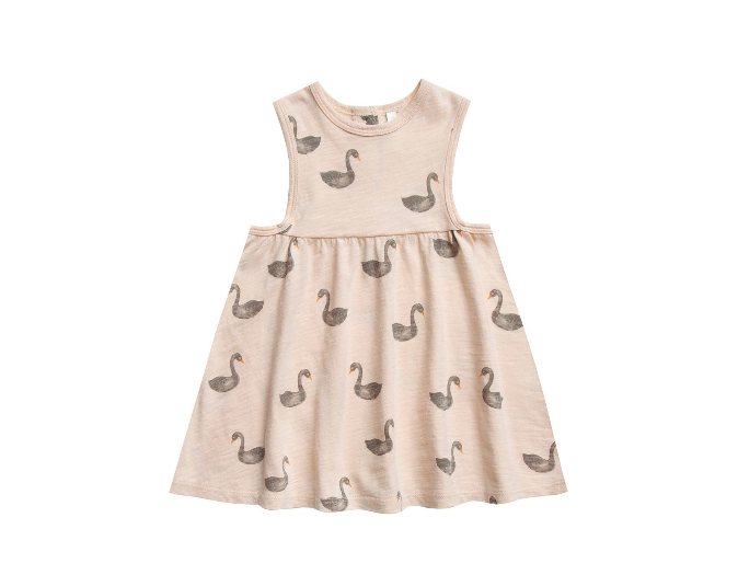 RYLEE AND CRU Swans Layla Dress