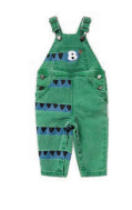 STELLA MCCARTNEY Snake Denim Dungaree