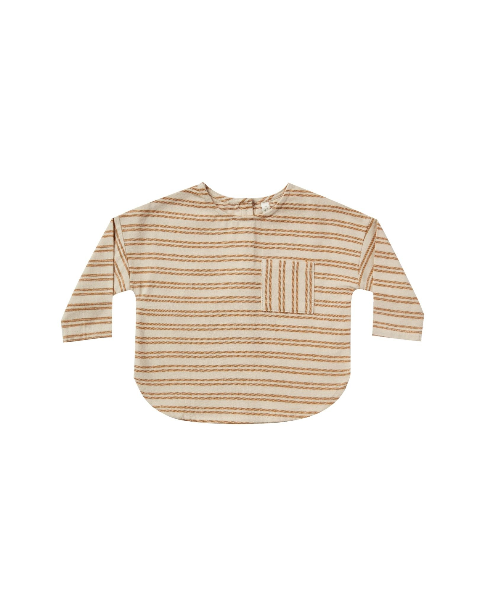 RYLEE AND CRU Baby Striped Jack Shirt