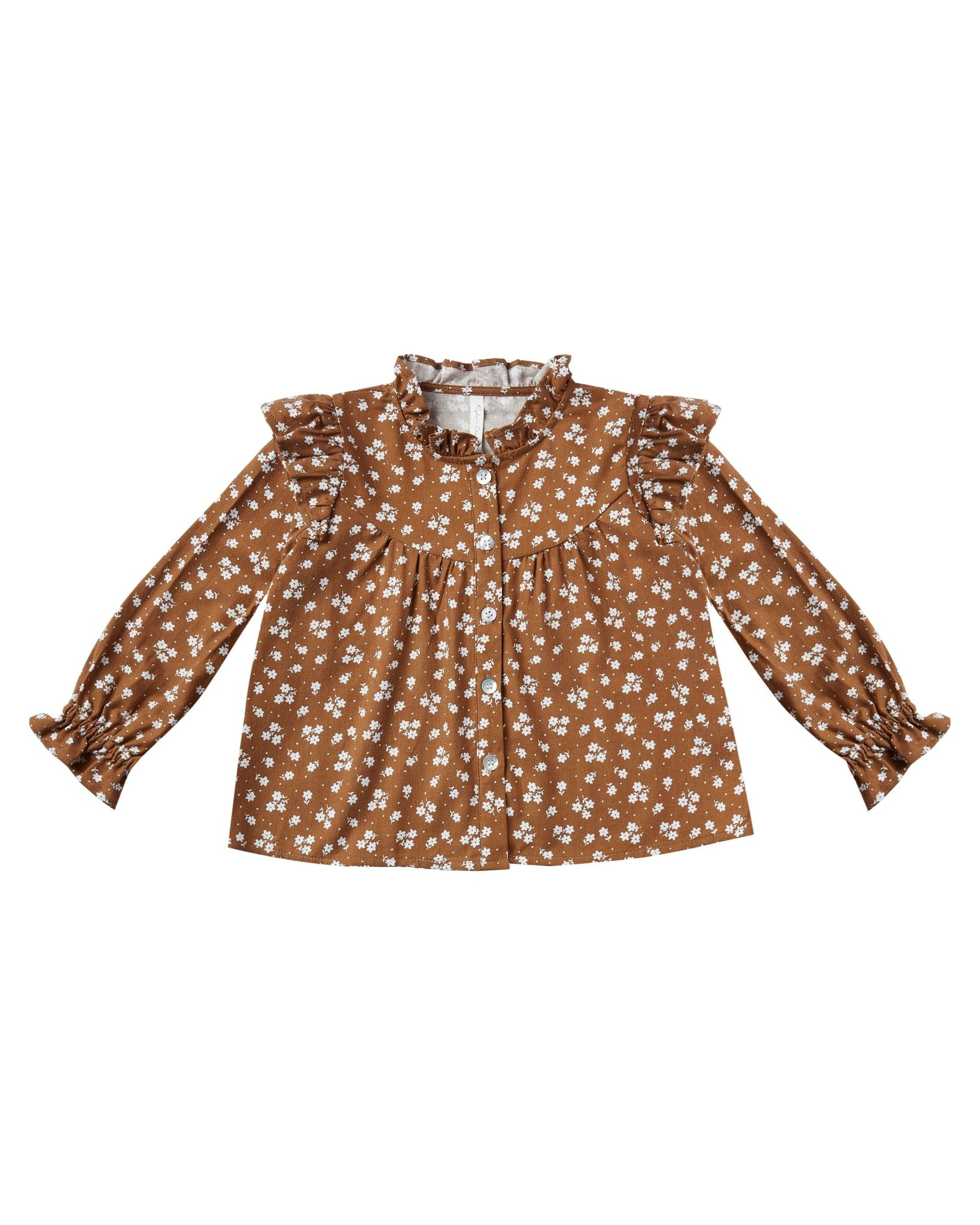 RYLEE AND CRU Ditsy Roony Blouse