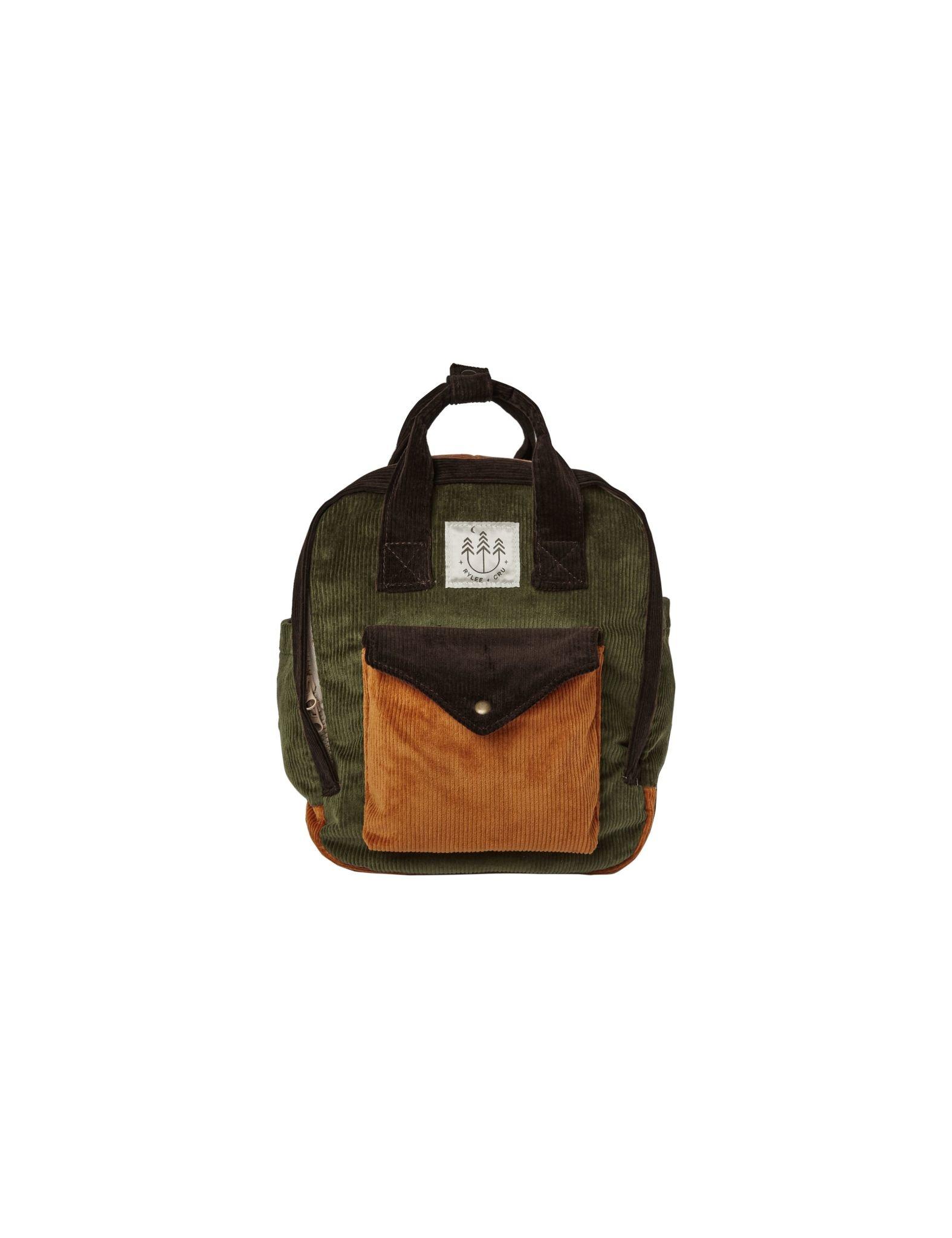 RYLEE AND CRU Corduroy Mini Backpack