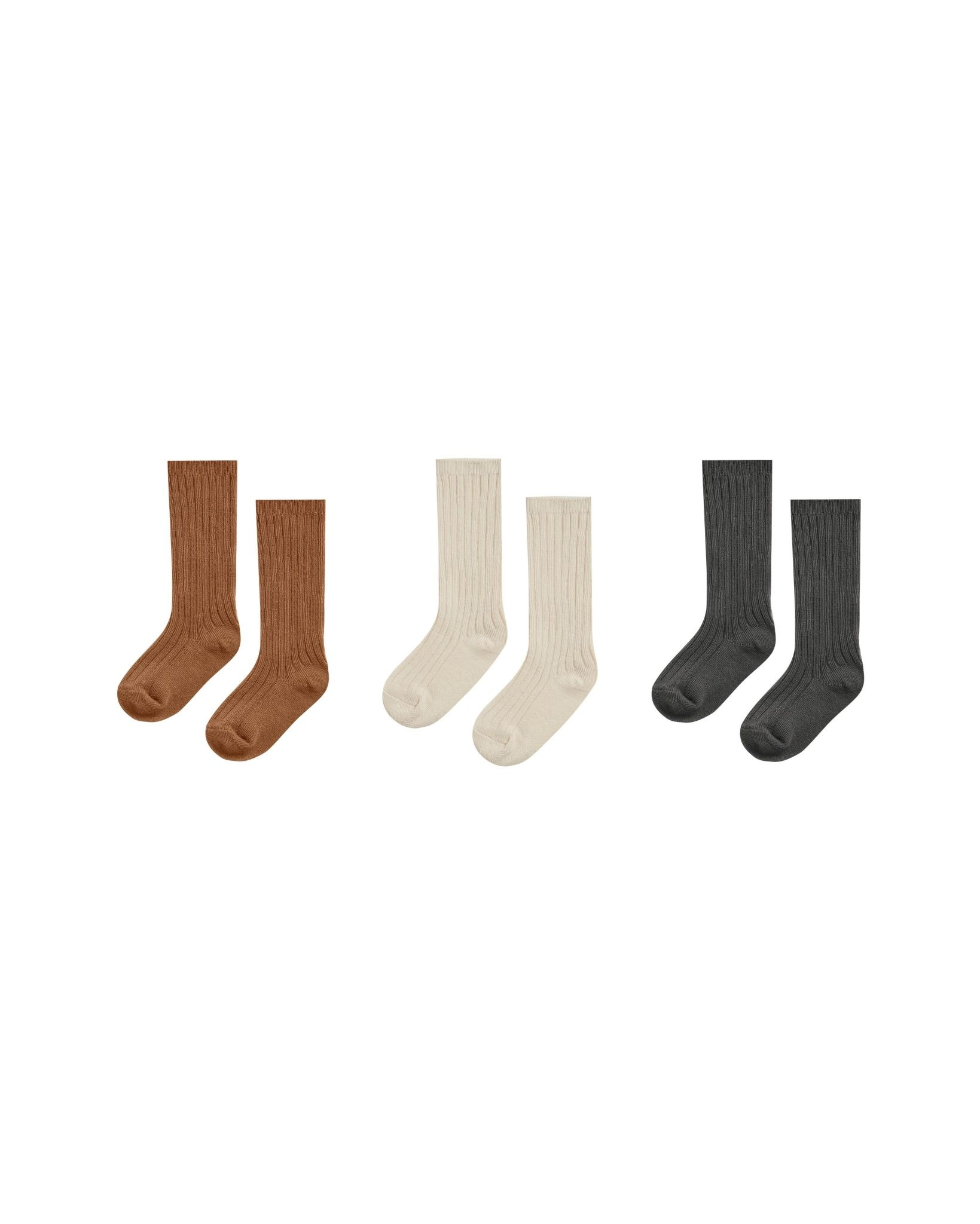 RYLEE AND CRU Baby Knee Sock Set of Three