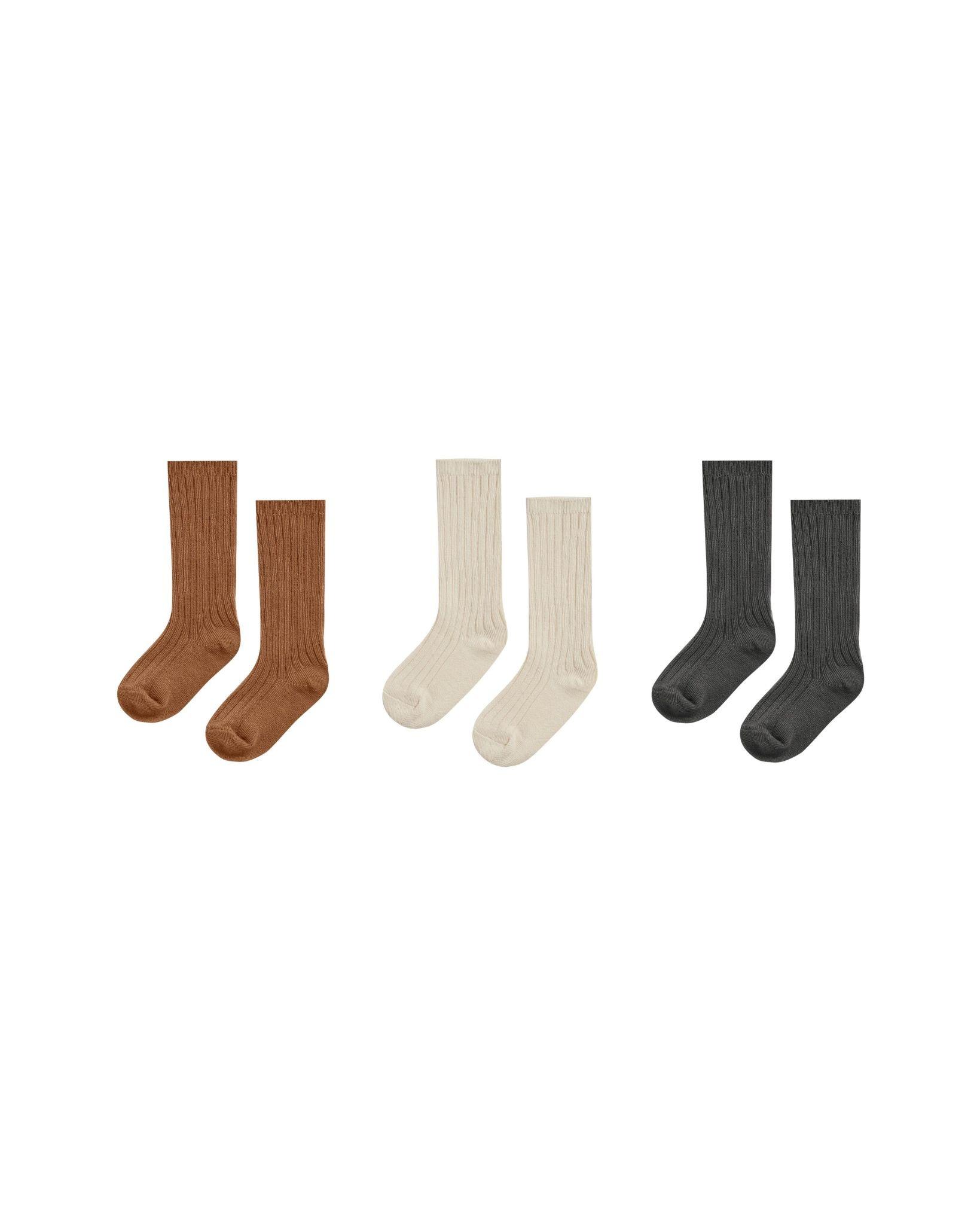 RYLEE AND CRU Knee Sock Set of Three