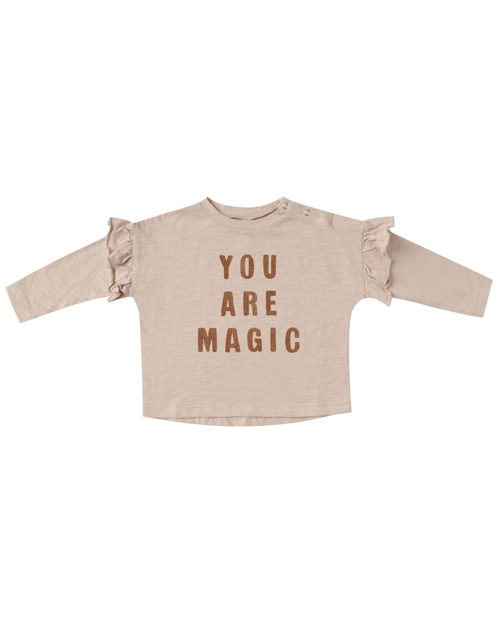 RYLEE AND CRU You Are Magic Baby Ruffle Tee
