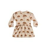 RYLEE AND CRU Mushroom Button Up Dress