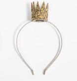 PETITE HAILEY Gold Jewel Crown Headband