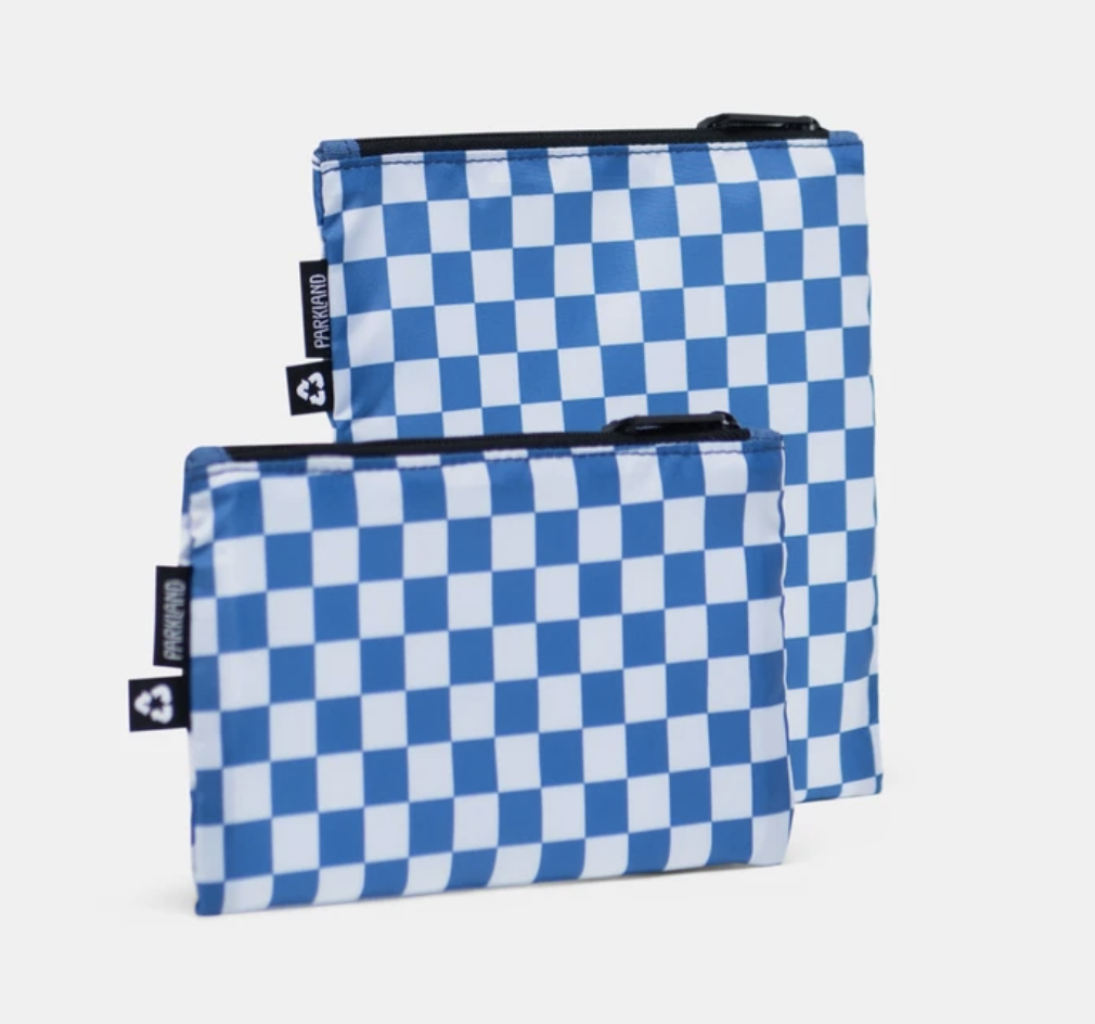 PARKLAND Checker Horizon Snack Bag Duo