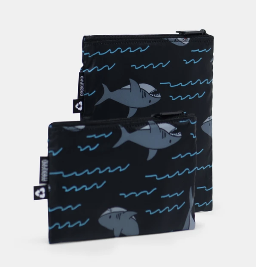 PARKLAND Shark Snack Bag Duo