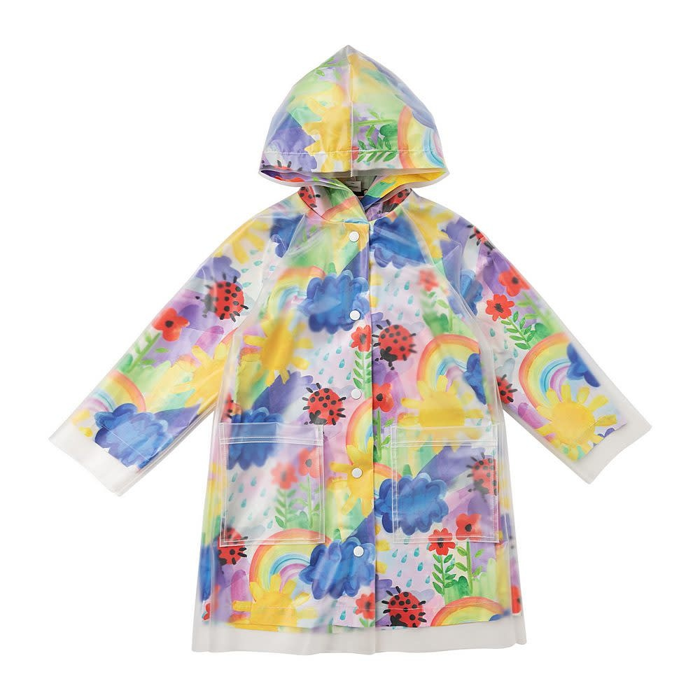 STELLA MCCARTNEY Weather Paint Raincoat