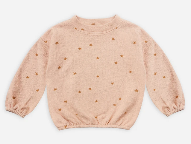 RYLEE AND CRU Star Slouchy Pullover