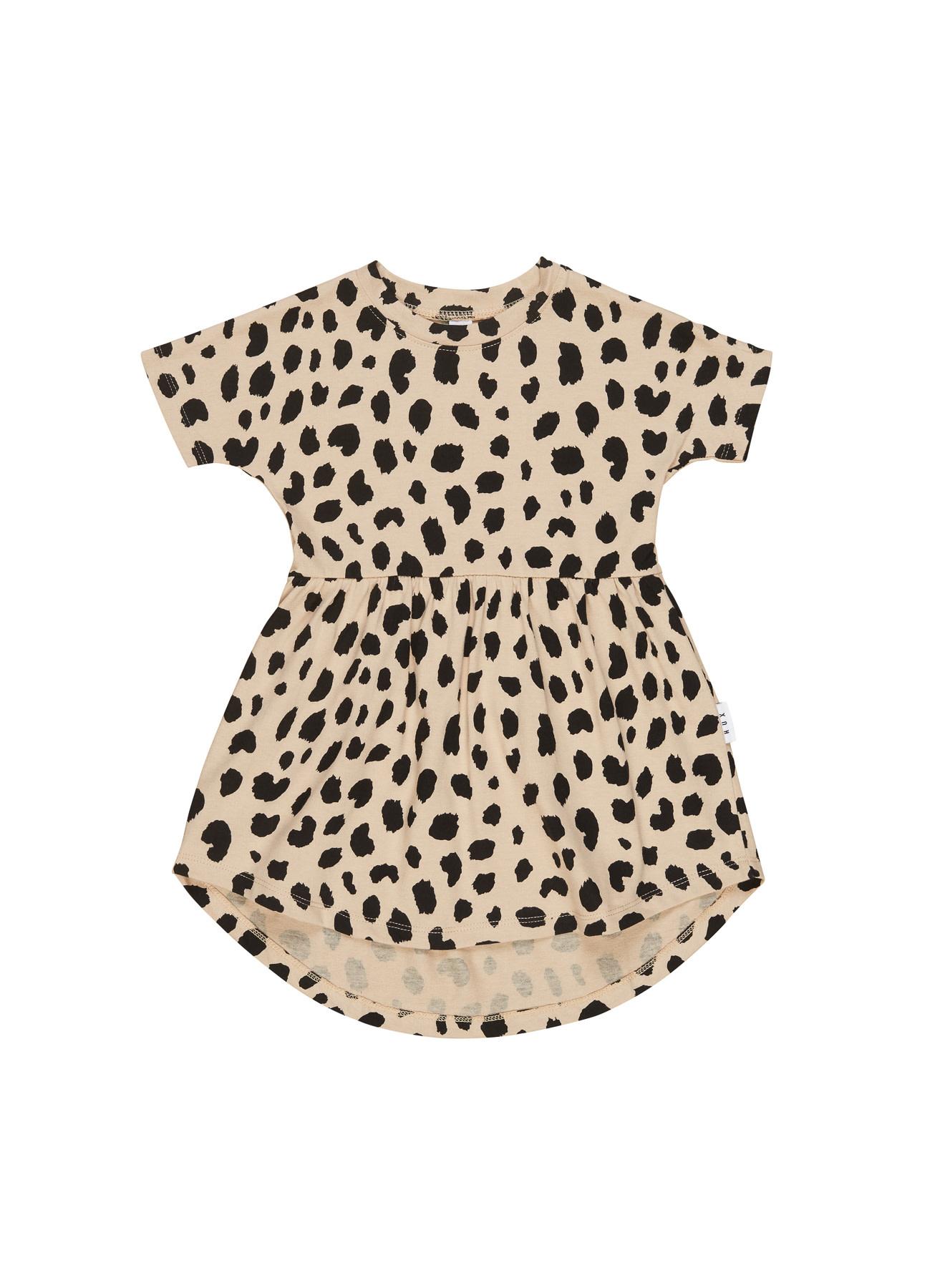 HUX BABY Animal Spot Swirl Dress