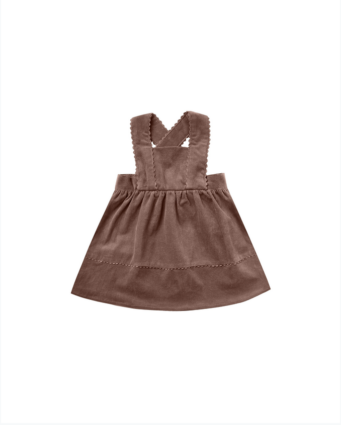 RYLEE AND CRU Corduroy Pinafore