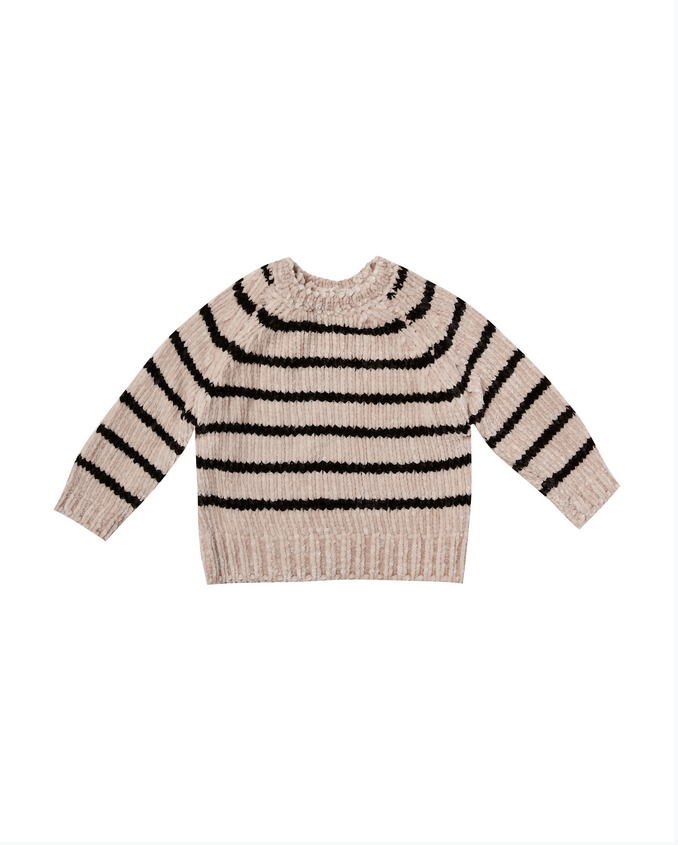 RYLEE AND CRU Striped Chenille Sweater 3-6 Months