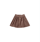 RYLEE AND CRU Button Front Mini Skirt