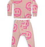 NUNUNU Sprayed Smiles Loungewear