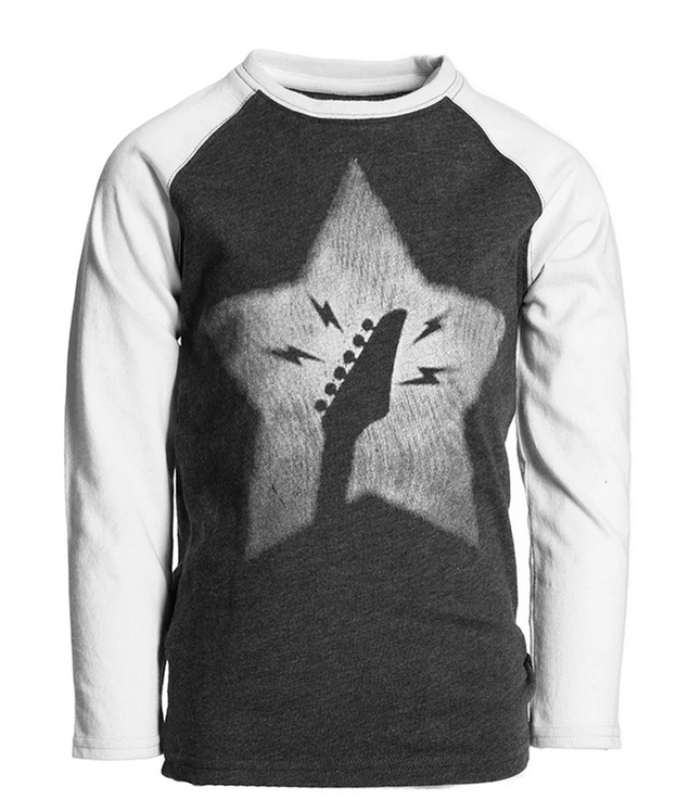APPAMAN Graphic Raglan Long Sleeve