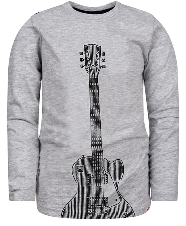 APPAMAN Graphic Long Sleeve Tee- Rock