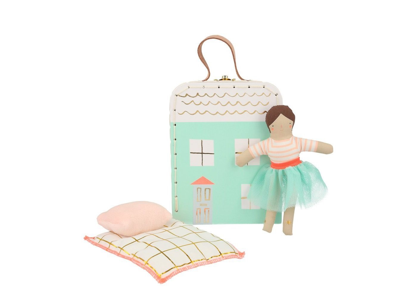 Lila Mini Suitcase Doll