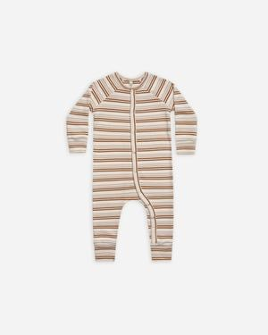 RYLEE AND CRU Striped Pajama Longjohn