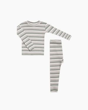 RYLEE AND CRU Baby Striped Pajama Set