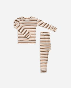 RYLEE AND CRU Striped Pajama Set