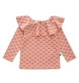 OEUF Baby Ruffle Collar Shirt