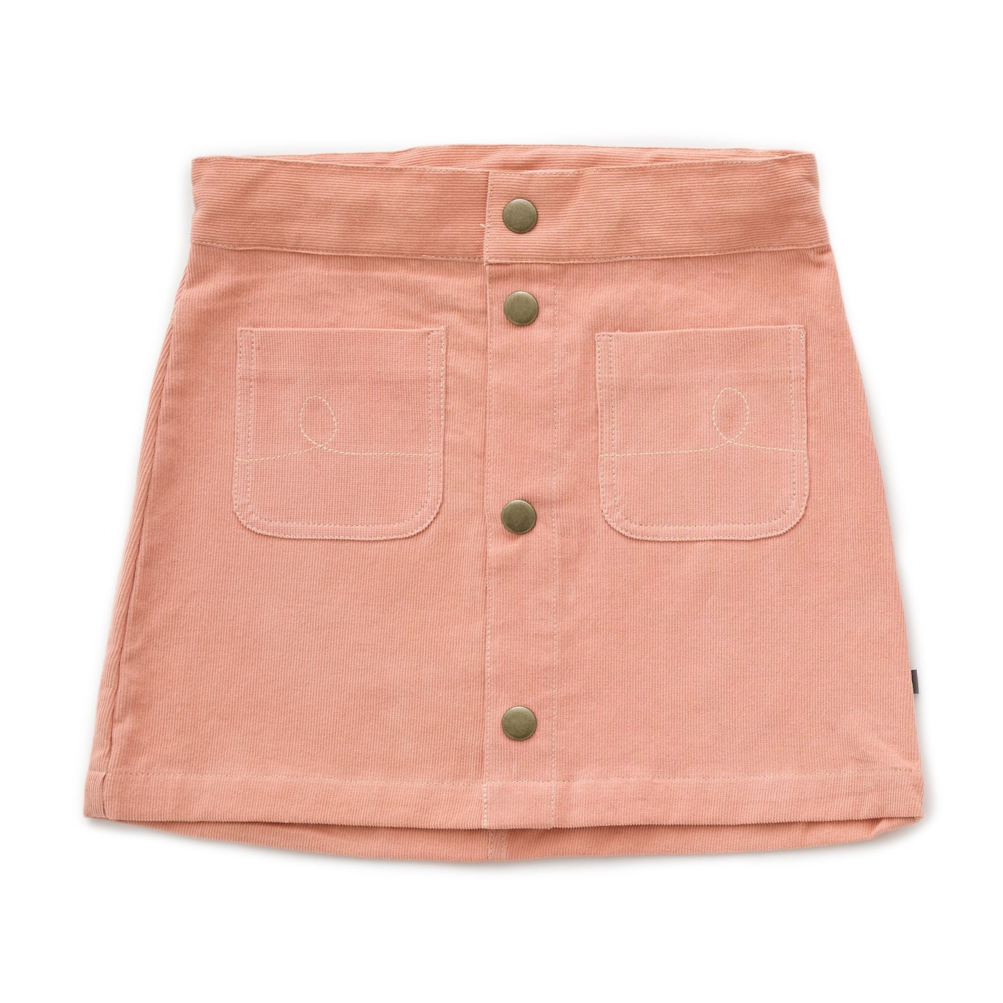 OEUF Snap Button Skirt