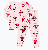 PINK CHICKEN Holiday PJ Set