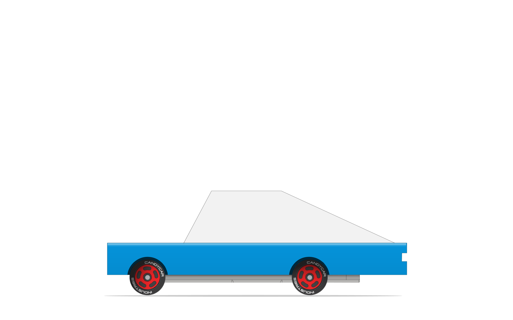 CANDYLAB Blue Racer #8
