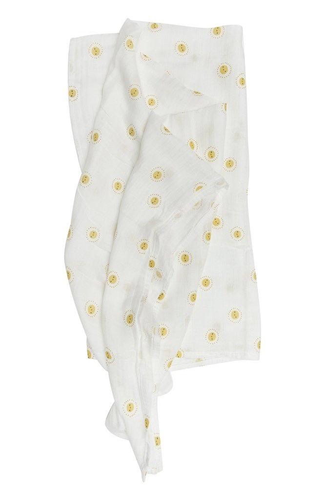 LOULOU LOLLIPOP Rise and Shine Muslin Swaddle